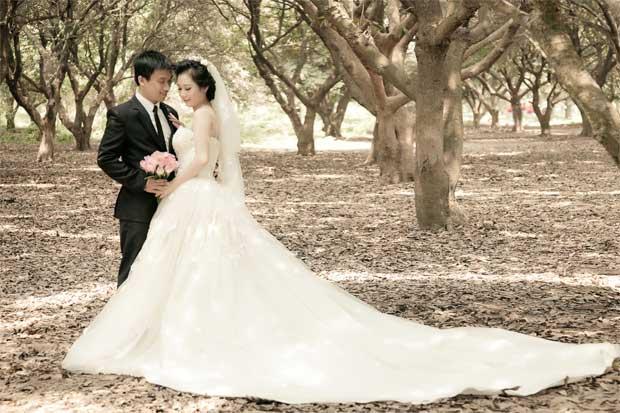 vuon nhan 1 20 địa điểm chụp ảnh cưới hot nhất năm 2014