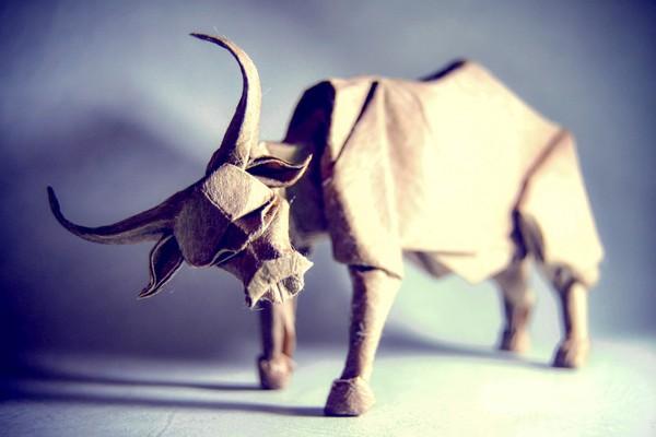 Bộ tượng giấy Origami đỉnh cao của nghệ nhân Tây Ban Nha