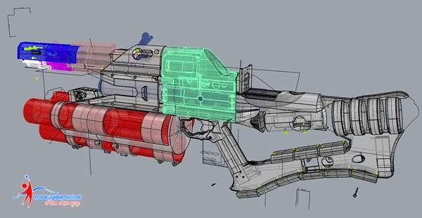 Chàng trai chế tạo thành công khẩu railgun bằng công nghệ in 3D