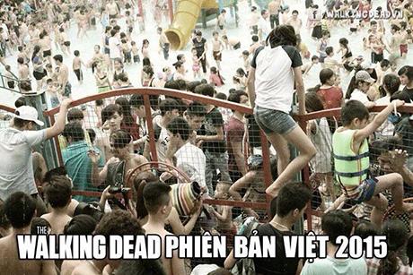 Hình ảnh Xác sống vượt rào phiên bản Việt