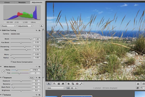 Tạo ảnh panorama không cần lens xịn