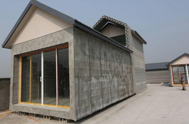 Tương lai sẽ có nhà được làm bằng gỗ in 3D
