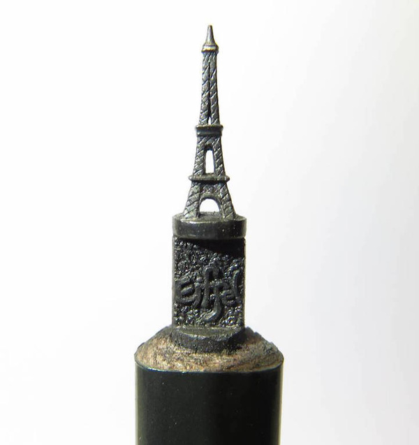 Thế giới thu nhỏ trên những cây bút chì của chàng nghệ nhân