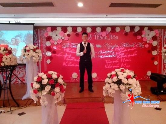 MC đám cưới- Công việc part time năng động và cá kiếm