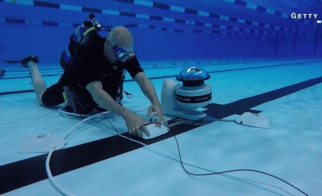 Robot giúp nhiếp ảnh gia có những bức hình tuyệt đẹp tại Olympic