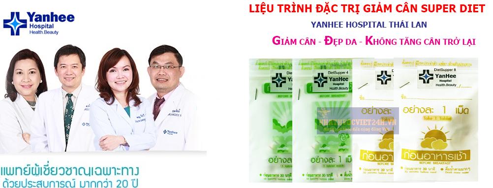 Thuốc giảm cân Thái Lan Super Diet