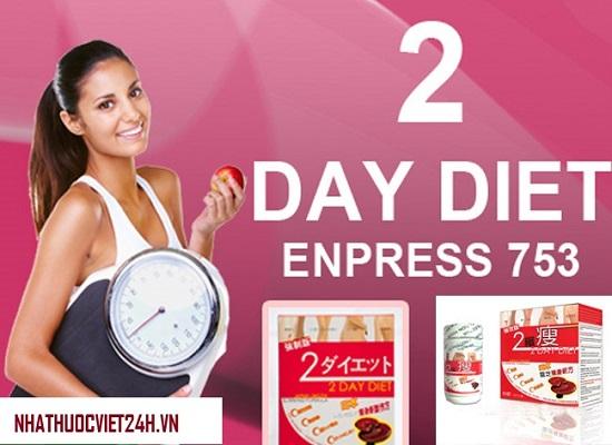 thuốc giảm cân 2 day diet nhật bản