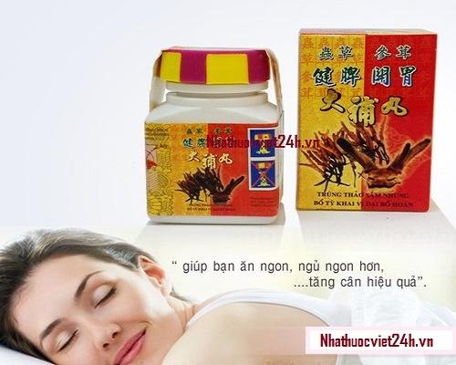 thuốc tăng cân Trùng thảo sâm