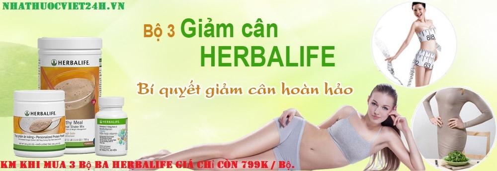 bộ ba sữa herbalife