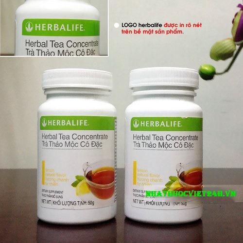 trà thảo mộc giảm cân herbalife