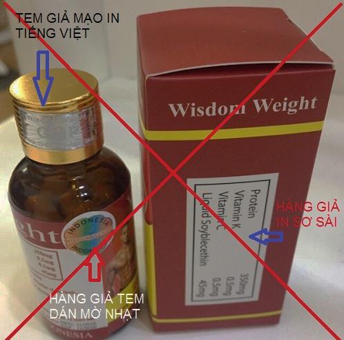 wisdom weight hàng giả