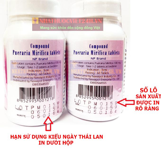 thuốc nở ngực thái lan
