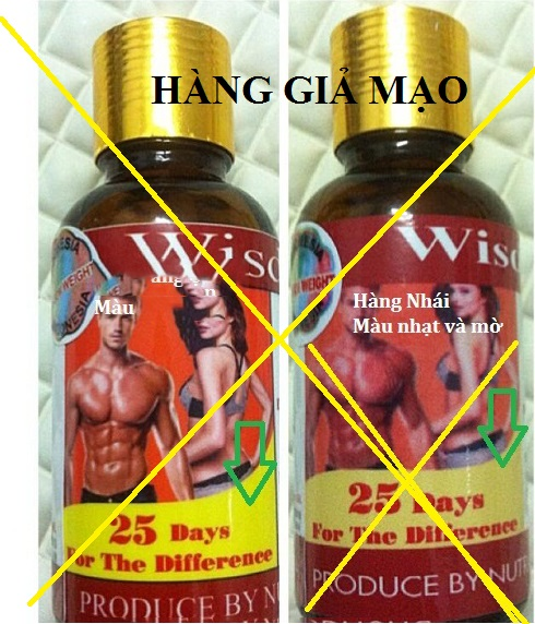 thuốc wisdom weight giả