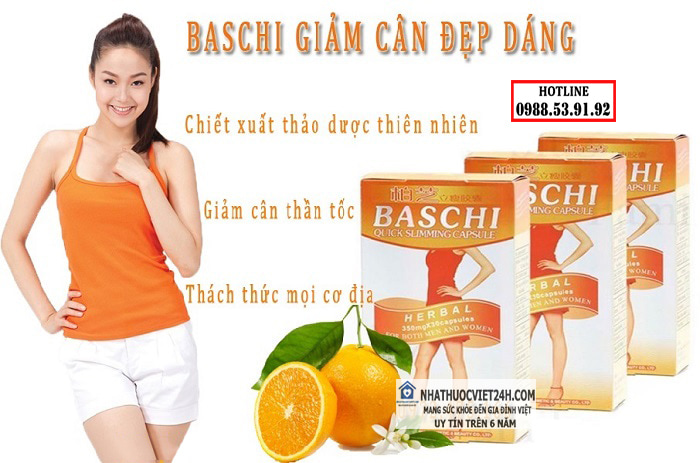 thuốc giảm cân baschi cam
