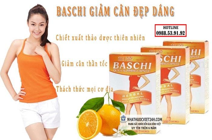 thuốc giảm cân baschi có tốt không