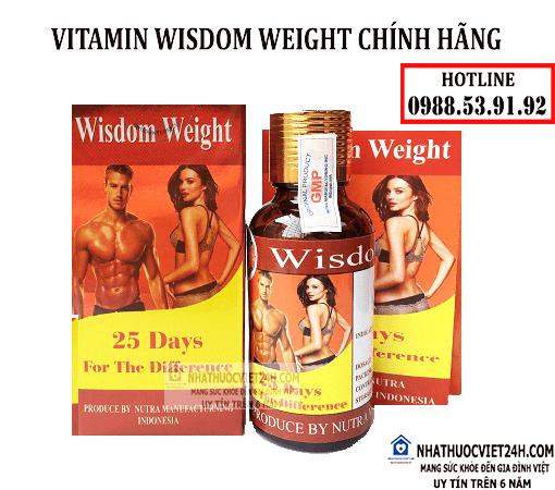 thuốc tăng cân wisdom weight