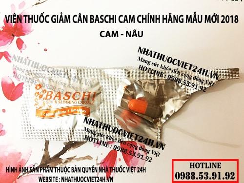 viên thuốc baschi cam