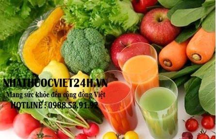 thức ăn cho người bệnh gout