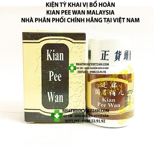 kian pee wan có tốt không