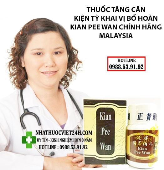 review thuốc kian pee wan
