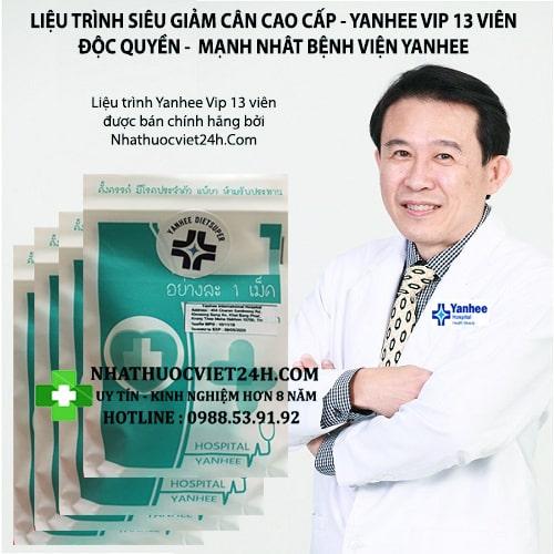 thuốc giảm cân yanhee