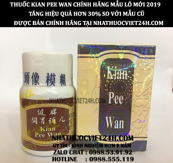 cách sử dụng kian pee wan