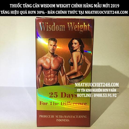 thuốc tăng cân wisdom