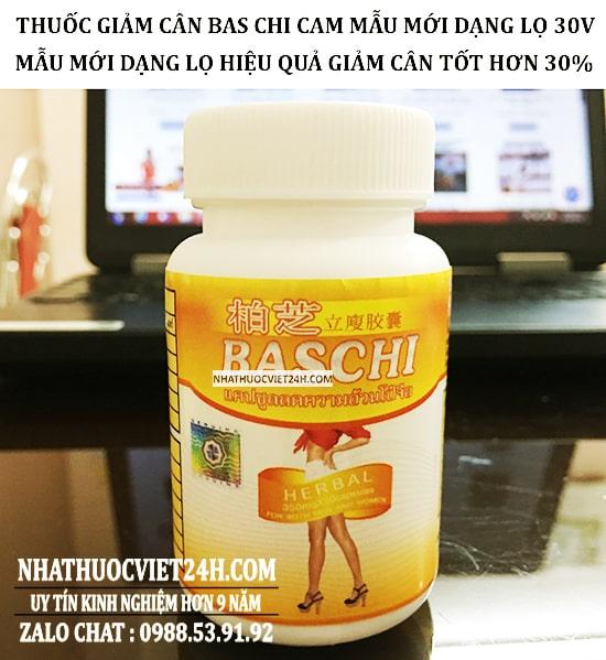 thuốc baschi cam lọ