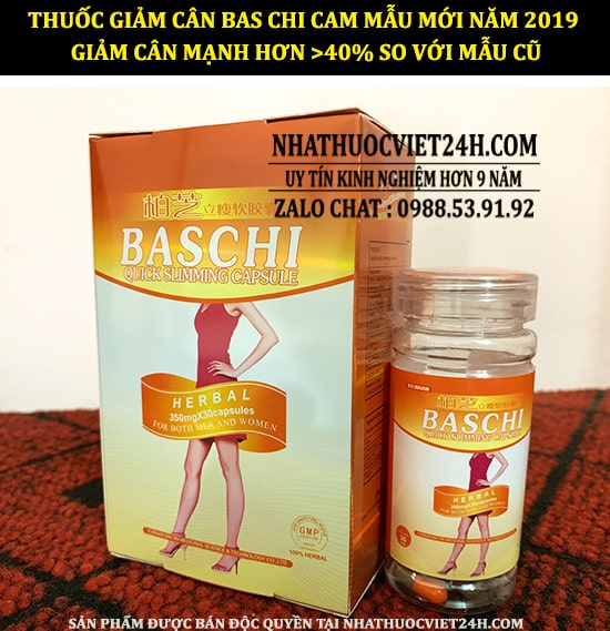 thuốc giảm cân baschi, giảm cân baschi, thuốc giảm cân baschi cam