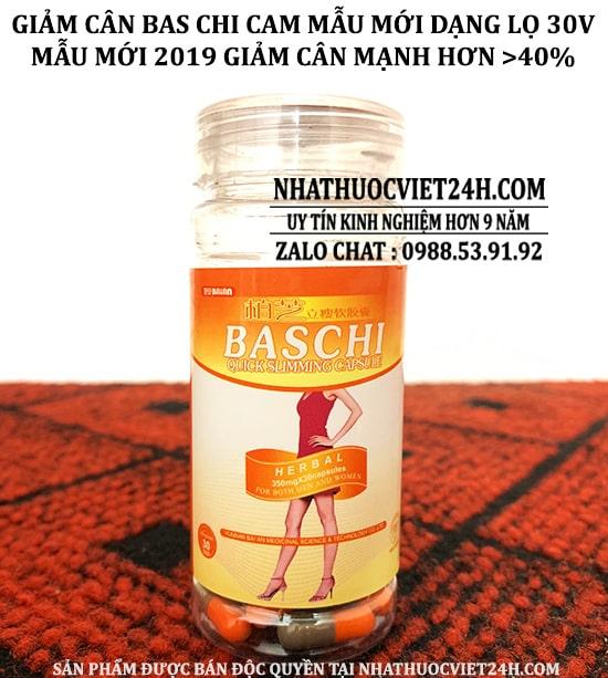 baschi cam, baschi, thuốc baschi