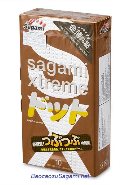 Bao cao su mỏng và có gai Sagami Xtreme Feel Up