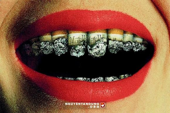 Phá huỷ răng miệng