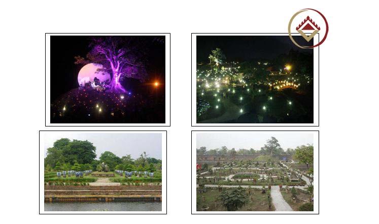 Một số hình ảnh Vườn Cơ Hạ về đêm và trong đêm nhạc Trịnh Công Sơn