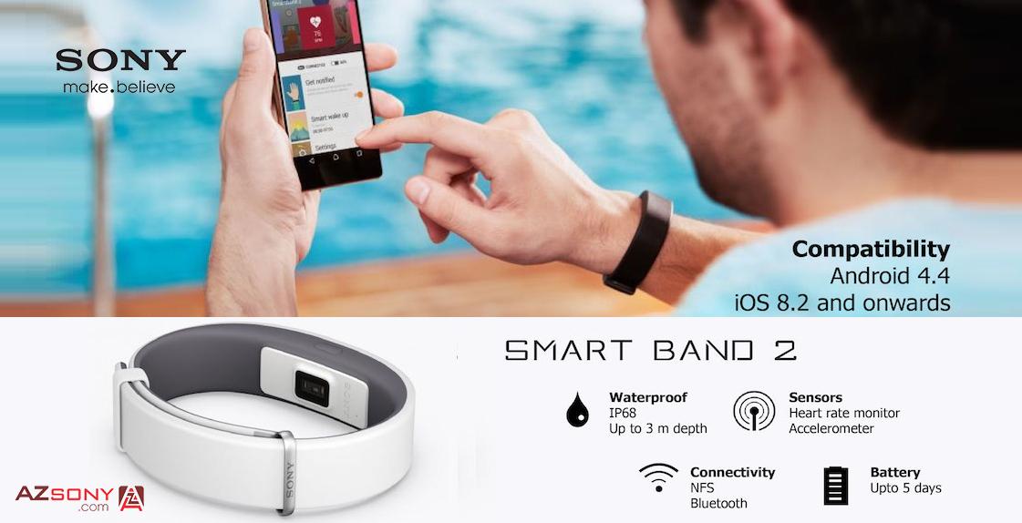 Vòng đeo tay thông minh Sony Smartband 2