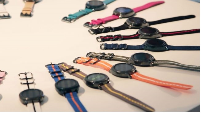 đồng hồ thông minh Samsung Gear Sport mới nhất vừa ra mắt