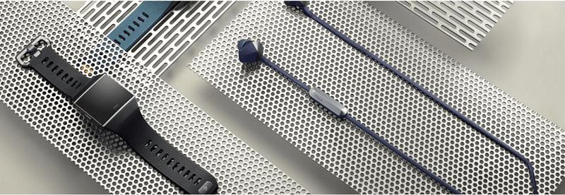 tai nghe chống ồn Fitbit và Garmin edge 1030 gps