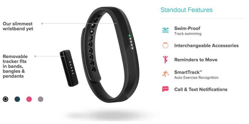 Đồng hồ thông minh Fitbit Flex 2