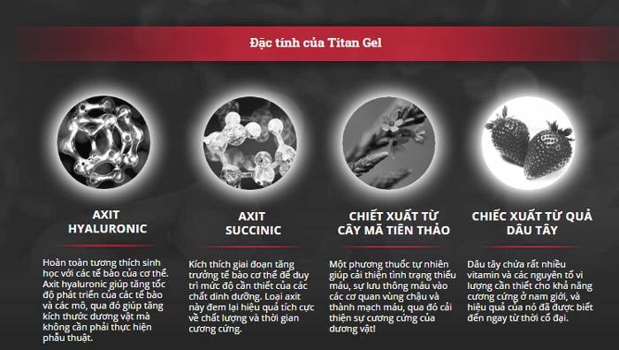 gen titan có tác dụng phụ không
