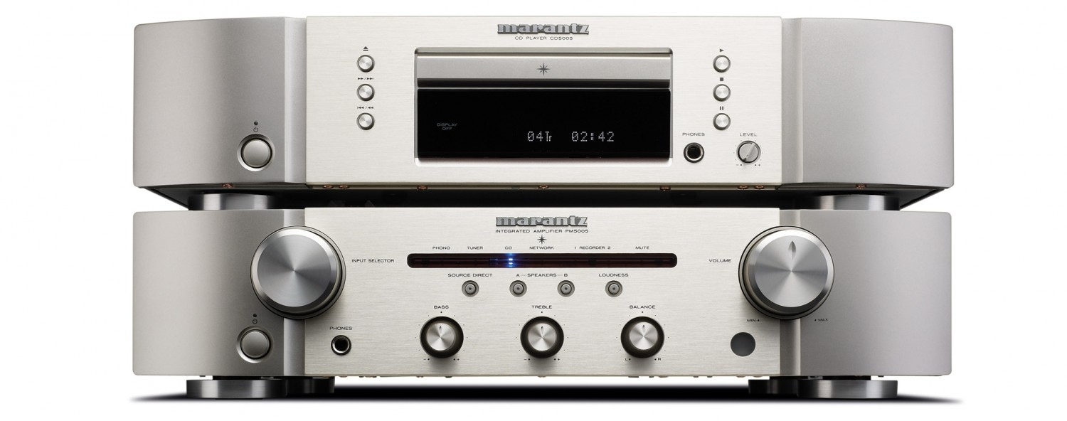 Marantz Integrated Amplifier PM5005/SG (SilverGold)