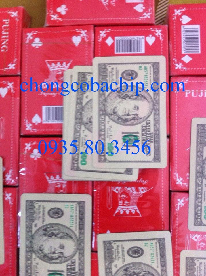 bài áp tròng dollar bài bạc bịp