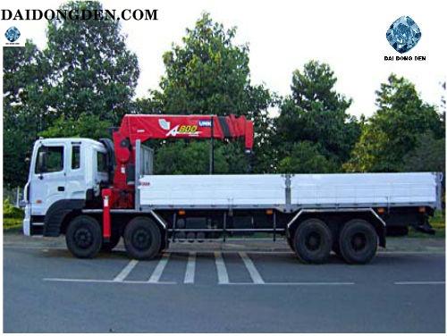 Cho thuê xe cẩu chuyên dụng 200, 250, 500 tấn giá rẻ tại Đồng Nai, TPHCM, Bình Dương