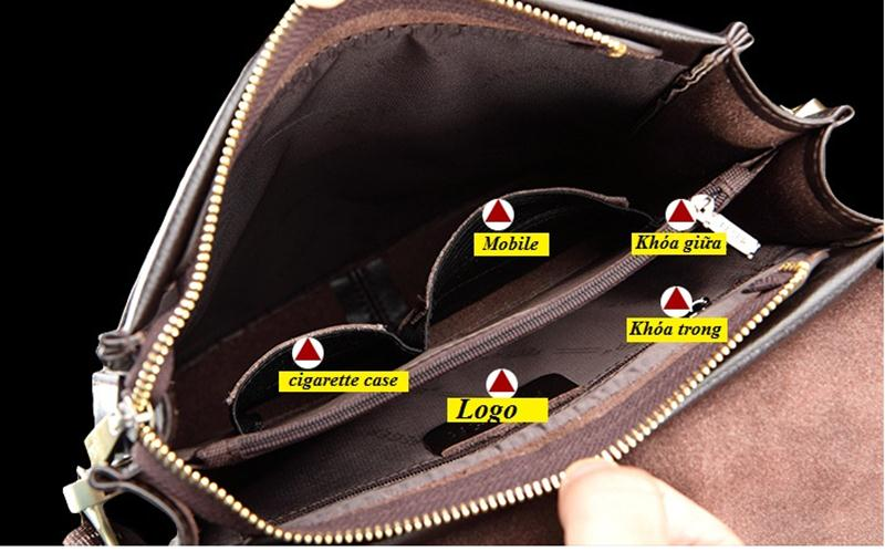 Túi đựng ipad Feger với nhiều ngăn tiện ích