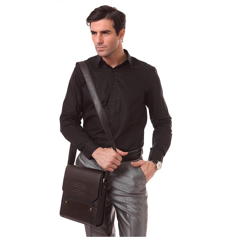 Túi đeo chéo nam hàng hiệu cá tính, thanh lịch