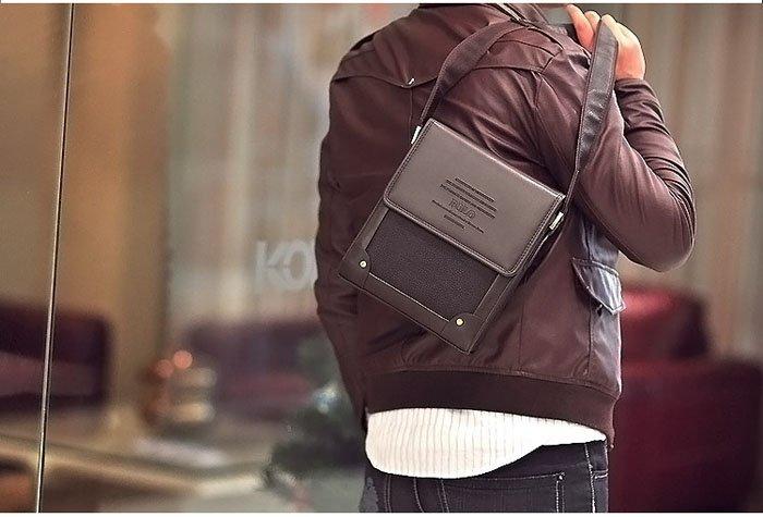 Túi đeo chéo nam vải thô cho mùa thu 2015