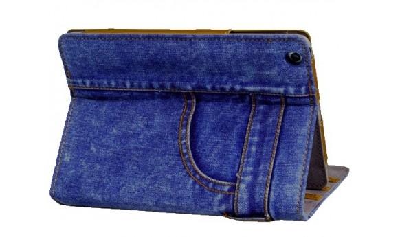 Túi đựng ipad bằng vải jean phong cách denim