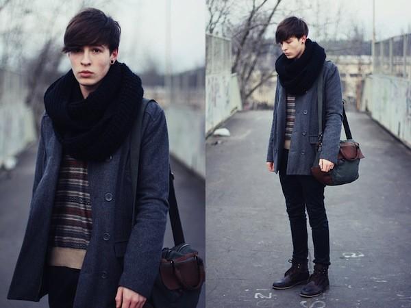 Túi đeo chéo nam  phong cách Hàn Quốc cực chất