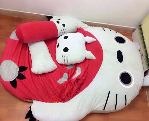 Đệm thú bông Totoro (1.2m x 1.6m )