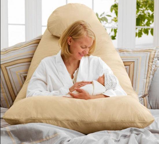 Gối ôm bà bầu BB02 (82 x 135) Vải Nhung lạnh hàn Quốc
