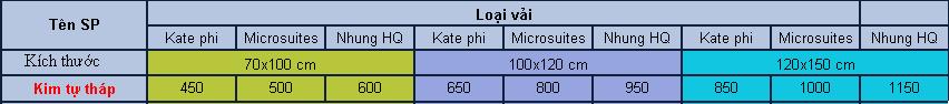 Gối lười Kim tự tháp  size Trung (1m x 1,2m) Vải Kate
