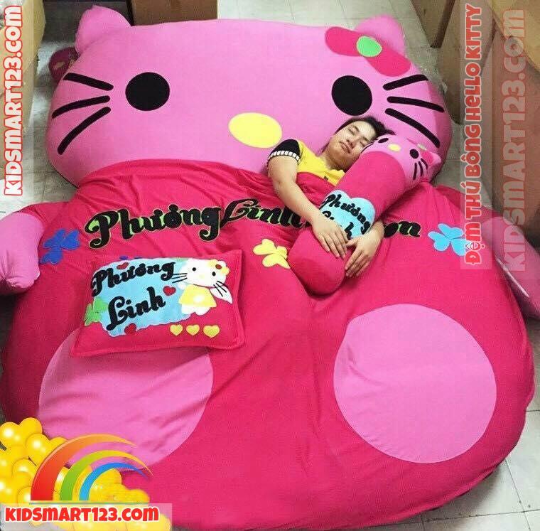 Đệm thú bông Hello Kitty 2 người nằm DT0099